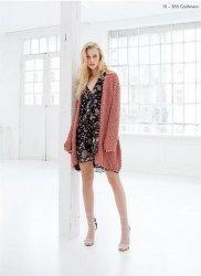 Вязаное пальто, вязаный кардиган, модели и схемы