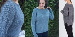 e3f6dc606c23 Пуловеры, свитера, джемпера спицами и крючком, модели со схемами ...