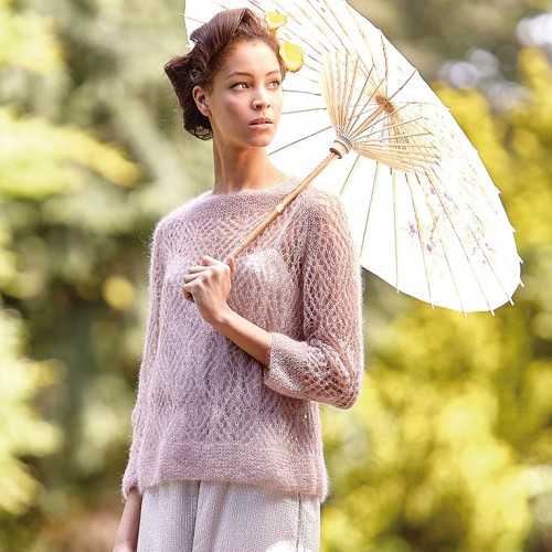 Ажурный пуловер Ibaraki