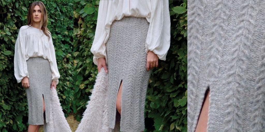 вязаные юбки спицами и крючком модели с описанием и схемами вяжиру