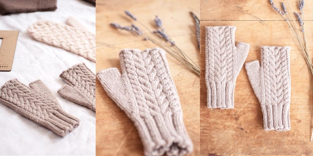 варежки перчатки и митенки схемы и описания вяжиру