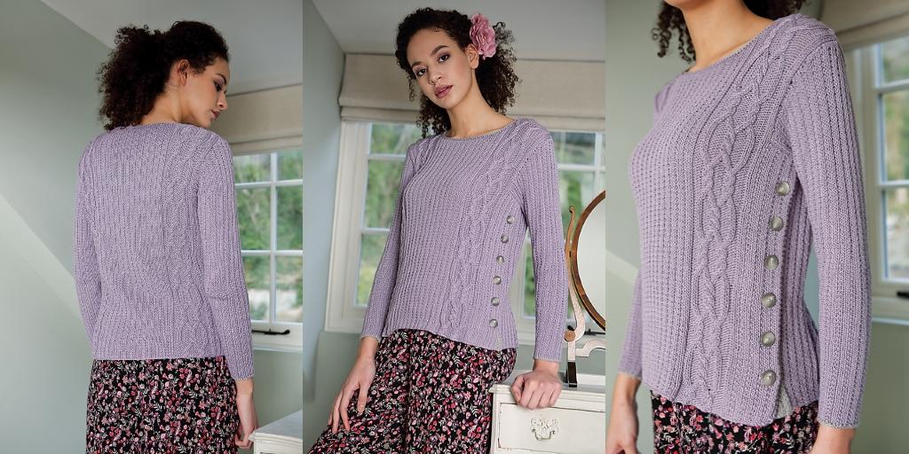 трендовыевязаные пуловеры сэема и описание