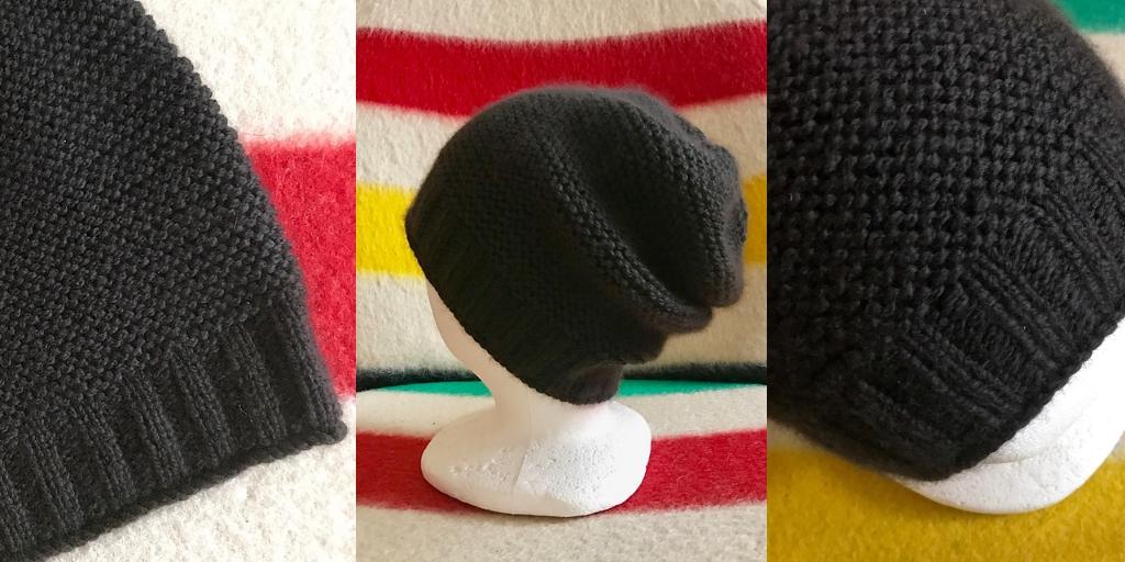 шапка платочной вязкой Getting Warmer вяжиру