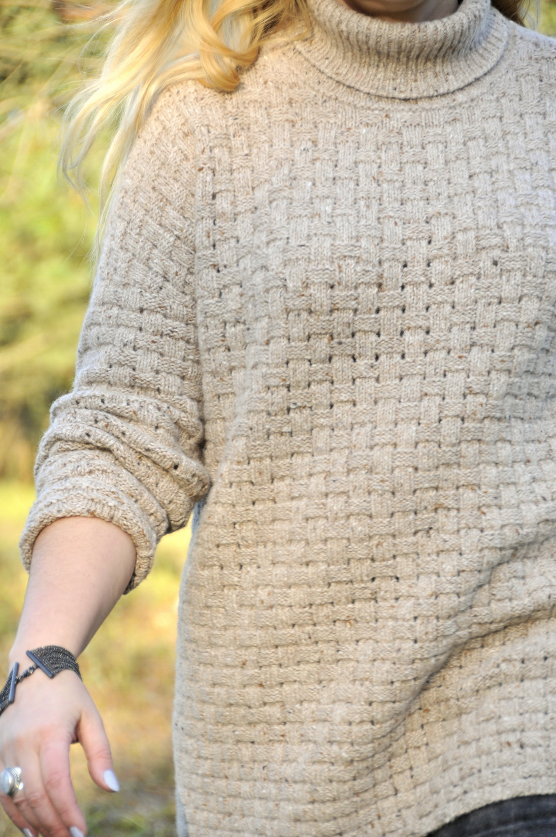 кофта спицами узор плетенка