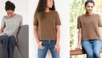 Пуловер с короткими рукавами Hatcher
