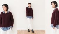Пуловер оверсайз косами Piedmont