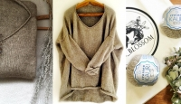 Пуловер оверсайз спицами Igawa