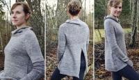 Пуловер с разрезом на спине Minimum
