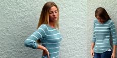 Легкий пуловер с тонкими полосками Sperry