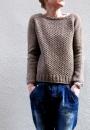 Женский пуловер регланом сверху Aibrean