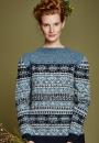 Пуловер скандинавским жаккардом Aspen