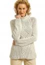 Вязание пуловера Gina от Norah Gaughan