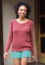 Вязание пуловера Tess