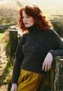 Вязание свитера Cabled, Fine Donegal