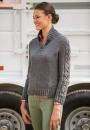 Вязание пуловера Hitch
