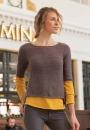 Вязание пуловера Timetable