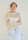 Вязание пуловера Aqua, Echoes