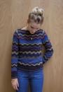 Вязание в стиле миссони пуловера Симона