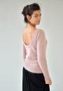 Вязание пуловера Silence, Still