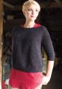 Вязание пуловера Coburn, Knitscene весна 2015