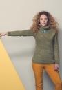 Пуловер с воротником - хомут Chamei