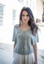 Вязание пуловера Arc, Norah Gaughan 14