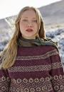 Вязание пуловера Moraig, Rowan 56