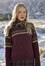 Вязание пуловера Ness, Rowan 56