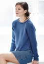 Вязание пуловера Ianthe, Rowan 57