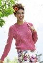 Вязание пуловера Lunaire