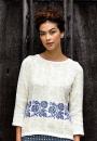 Вязание пуловера Rosean