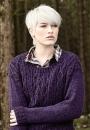 Женский пуловер с аранами Crowden