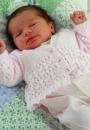 Вязание для малышей кардиганов Lace, Sirdar 280