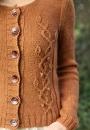 Вязание кардигана Flourish, Alana Dakos
