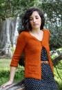 Вязание жакета Sunlit Autumn, Alana Dakos