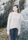 Вязаный женский пуловер А-силуэта Lila