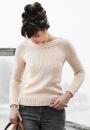 Вязание пуловера Lesley, Hannah Fettig