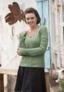 Вязание пуловера Matalina, Interweave Knits
