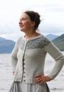 Вязание кардигана Epistrophy, Kate Davies