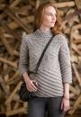 Вязание пуловера Spiral