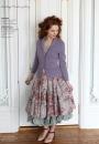 Вязание жакета Lace peplum, Knitting Magazine