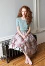 Вязание пуловера Summer cable, Knitting Magazine