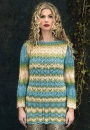 Ажурный пуловер спицами Fillans