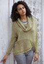 Вязание пуловера Twin, Norah Gaughan, Berroco Vol. 11