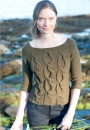 Вязание пуловера Sophie, Quince@Co