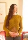 Вязаный пуловер Wickerwork от Michele Wang