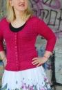 Вязание для женщин жакета Alecia Beth