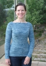 Вязание пуловера Aspen, Alison Loeliger