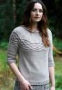 Вязание пуловера Sandhurst