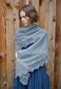 Вязание шали Flow, Andrea Rangel
